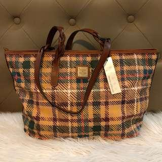 NWT Authentic Dooney & Bourke Braided Shopper Bag