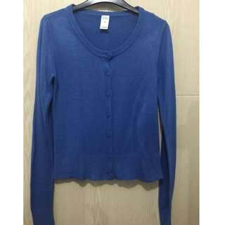 Knitted Top - small blue preloved
