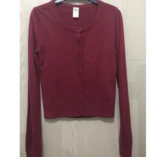Knitted Top - small red preloved