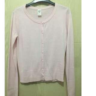 Knitted Top - small baby pink preloved