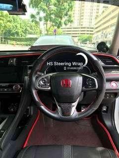 Civic FC Steering wraps