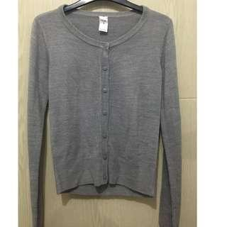Knitted Top - small gray preloved