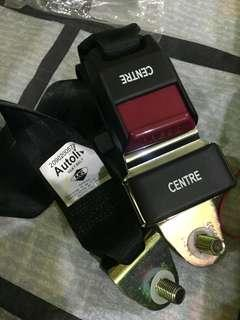 Centre seat Belt