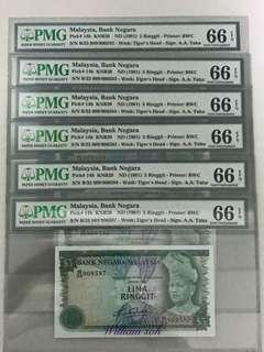 Malaysia Error note series 4 rm5