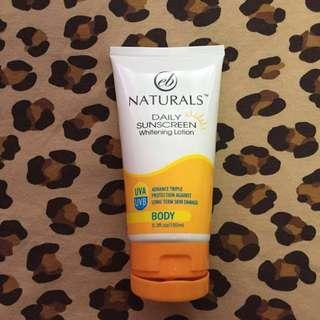 EB Naturals Daily Sunscreen Whitening Lotion