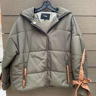 Maje Guel Hooded Jacket