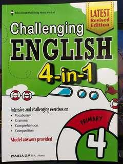 Primary 4 challenging English 4-in-1