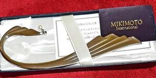 Authentic Mikimoto Book mark (with pearl)