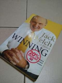 10008 Book Winning by Jack Welch