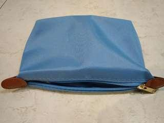 Baby Blue Classy Toiletry Bag