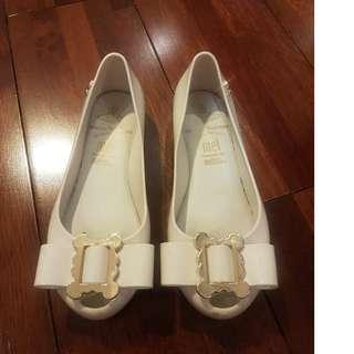 Girl's White Melissa's shoes