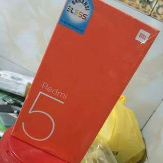 xiaomi redmi 5 3/32GB distri 1th kredit tanpa kartu kredit