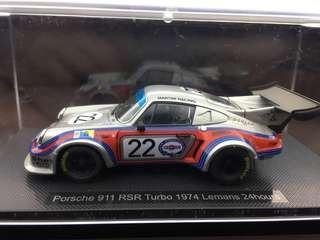 1/43 Porsche 911 RSR 1974 LeMans 24hours