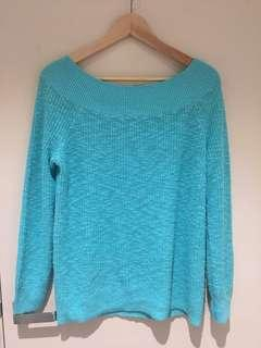 Turquoise Gap Sweater