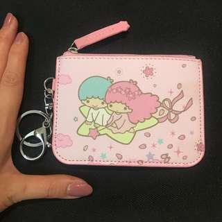 🚚 Little twin star card holder with coin slot (my melody/ peanuts / Snoopy /little Twin Star)