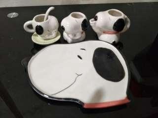 Snoopy Mini Tea Set (used)