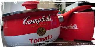 100% NEW Campbell's Official Pot x 1 絕版金寶搪瓷煲