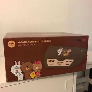 Line Friends x ICBC waffle maker窩夫機