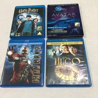 BLU -RAY DVD