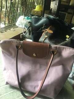 Longchamp long small handle