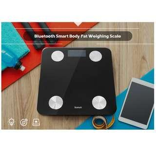 Bluetooth Smart Body Fat Weighing Scale