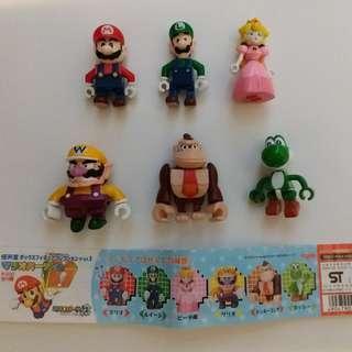 【玩具】孖寶兄弟 Super Mario 扭蛋 (全套)