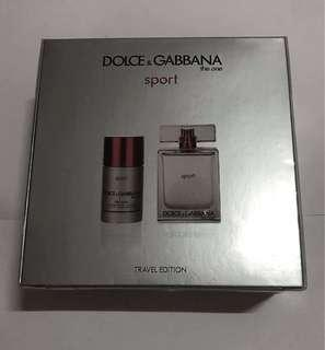 Dolce & Gabbana The One Sport Travel Edition Set
