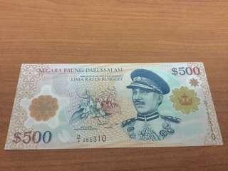 $500 Banknotes
