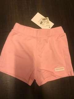 [全新低放] 女嬰幼童 低於半價 正品 converse pink short 粉色小短褲3t