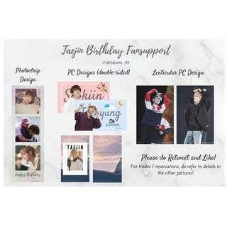 TAEJIN Cup Sleeve events Fansupport