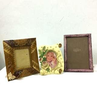 Photo Frames (RM10 for 3) #MY1010