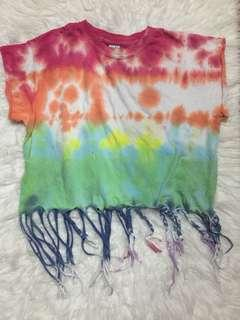 Fringe Rainbow Shirt