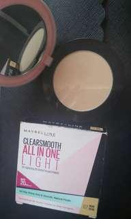 Maybelline Clearsmooth All In One Light 02 Nude Beige