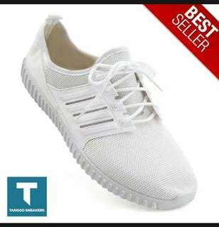 Sneakers womens rubber shoes(white)