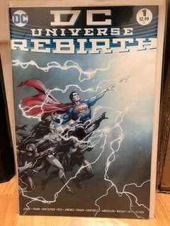 DC Rebirth #1 (first print) quick sale!