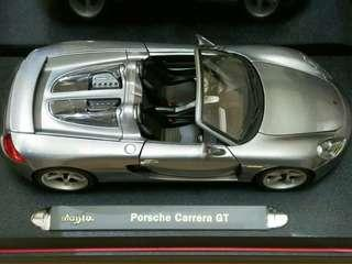 Porsche Carrera GT Maisto 1:18 Diecast Model Car