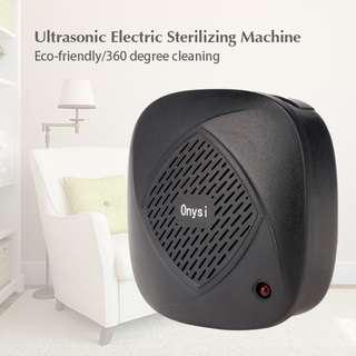 Household Ultrasonic High Frequency Sterilizing Machine for Cleaning Use (BLACK)
