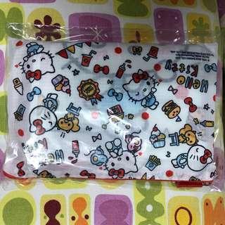 全新正品-hello kitty 收納袋 旅行袋 一套三件