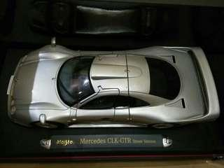 Mercedes Benz CLK-GTR Street Version Maisto 1:18 Diecast Model Car