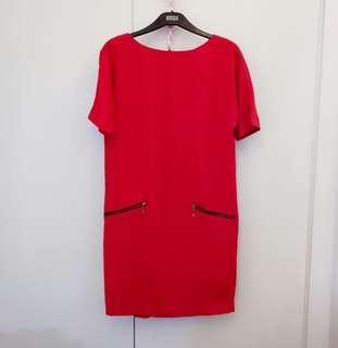 Authentic Zara Red Dress