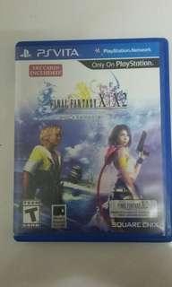Final fantasy x - Psvita Game (all)