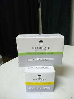 Harrogates sulphur soap and cream