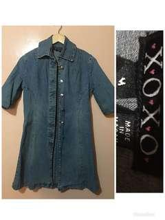 XOXO denim dress medium (fits small)