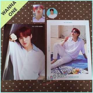 WANNA ONE SUMMER PACKAGE SUNGWOON / MINHYUN / WOOJIN SET (with FREE GIFTs)