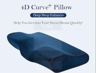Unique 4d memory contour pillow