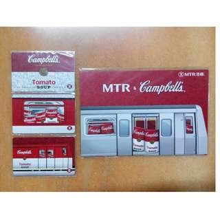 MTR 港鐵 x Campbell's Tomato Soup 金寶湯 紀念車票 (連封套)