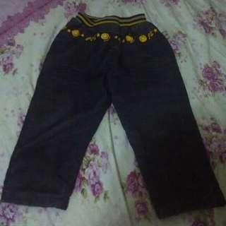 兒童褲    長褲    牛仔褲    child trousers