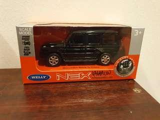 Scale model die cast metal Mercedes-Benz G-Class