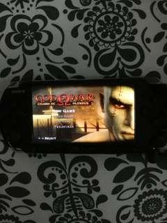 Sony PSP 3001 with 4GB memory