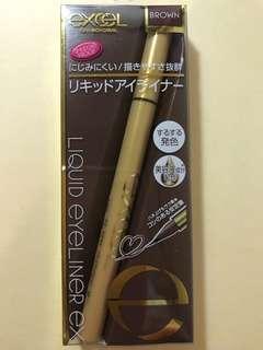 🚚 日本🇯🇵超夯眼妝品牌*excel *眼線液筆 咖啡色 限量1隻